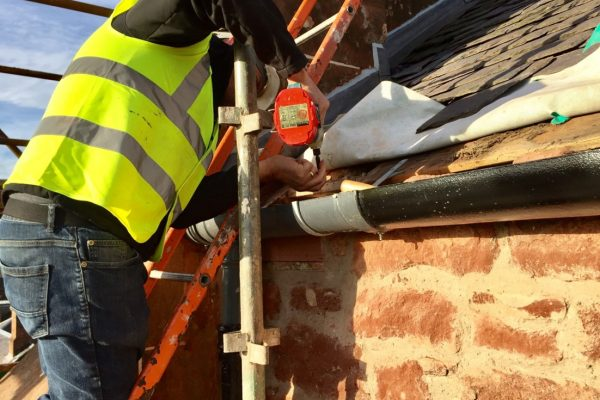 Daniele Muir consultant on safe guttering for animals